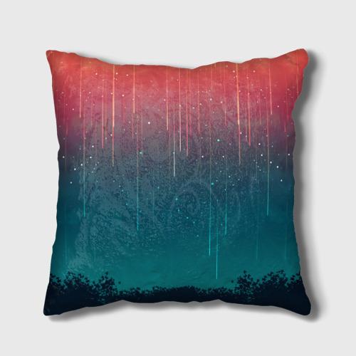 Подушка 3D Космический Дождь Фото 01
