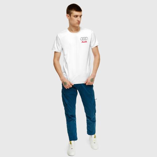 Мужская футболка хлопок AUDI | АУДИ Фото 01