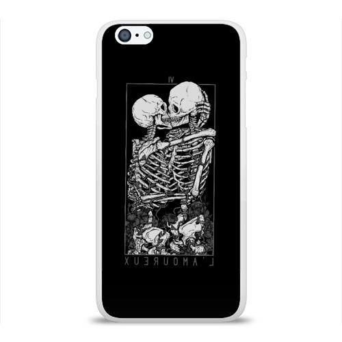 Чехол для Apple iPhone 6Plus/6SPlus силиконовый глянцевый the Lovers Фото 01