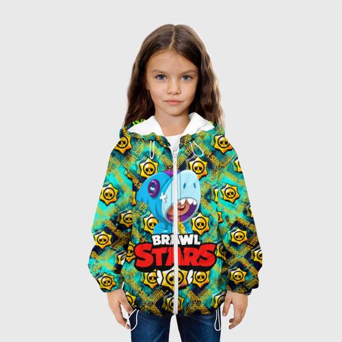 Детская куртка 3D Brawl Stars Leon Фото 01