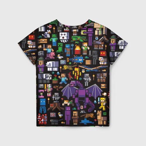 Детская футболка 3D MINECRAFT   МАЙНКРАФТ (Z) Фото 01