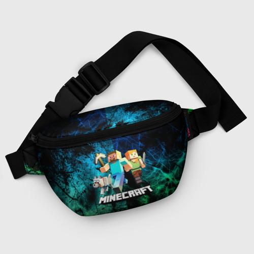 Поясная сумка 3D Minecraft / Майнкрафт Фото 01