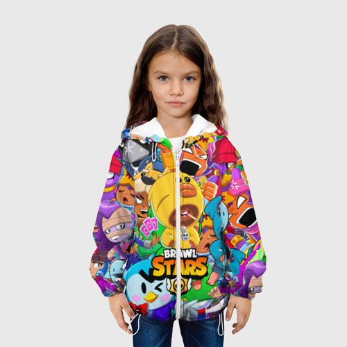 Детская куртка 3D BRAWL STARS SALLY LEON Фото 01