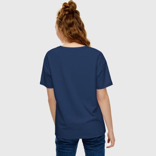 Женская футболка хлопок Oversize BLACK WIDOW Фото 01