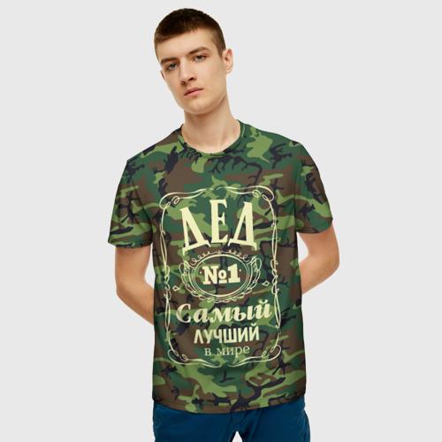 Мужская футболка 3D Дед №1 Фото 01