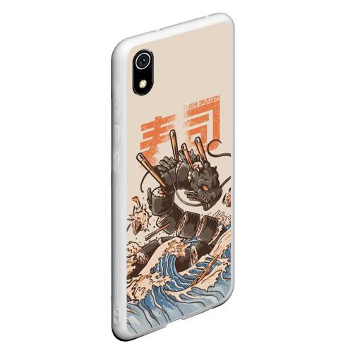 Чехол для Xiaomi Redmi Mi 7A Sushi dragon Фото 01
