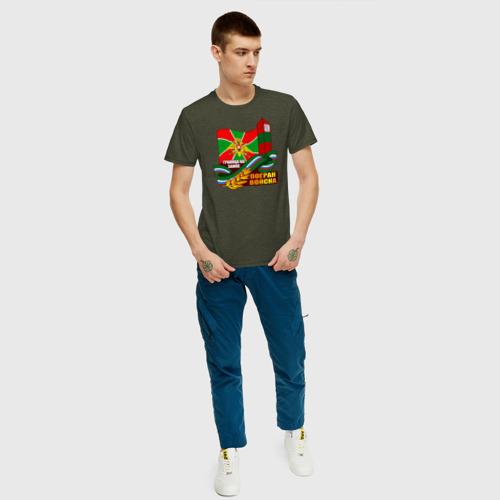 Мужская футболка хлопок Погран Войска Фото 01