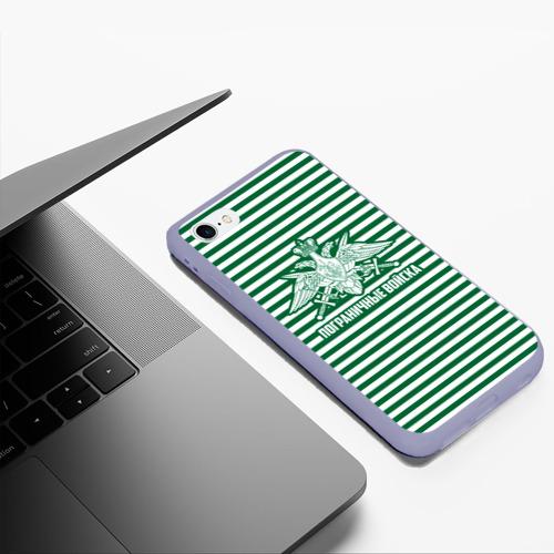 Чехол для iPhone 6Plus/6S Plus матовый Пограничные Войска Фото 01