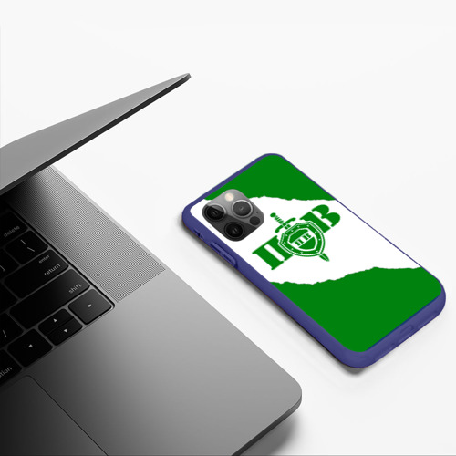 Чехол для iPhone 12 Pro Max Пограничные Войска Фото 01