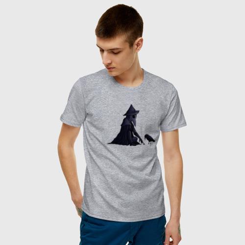 Мужская футболка хлопок Чумной доктор Фото 01