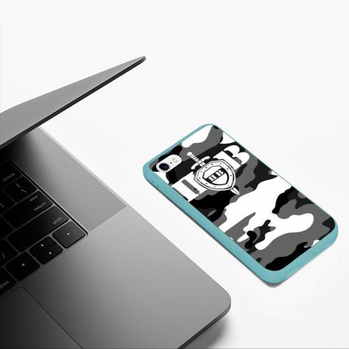 Чехол для iPhone 6/6S матовый Пограничные Войска Фото 01