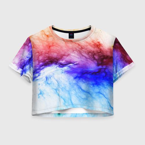 Женская футболка Crop-top 3D ГРОЗОВЫЕ ВОРОТА Фото 01