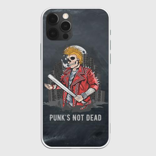 Чехол для iPhone 12 Pro Max Punk's Not Dead Фото 01