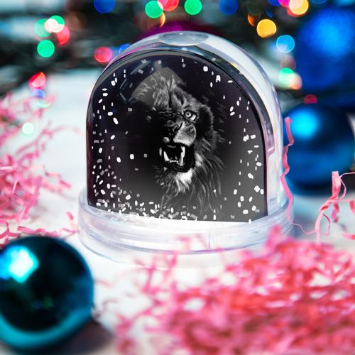 Снежный шар ЛЕВ Фото 01