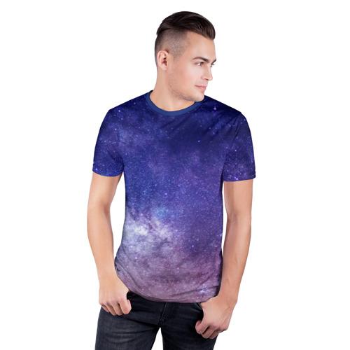 Мужская футболка 3D спортивная ГАЛАКТИКА Фото 01
