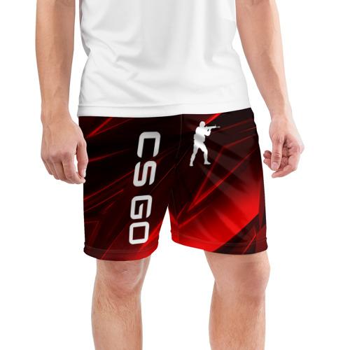 Мужские шорты спортивные CS GO  Фото 01