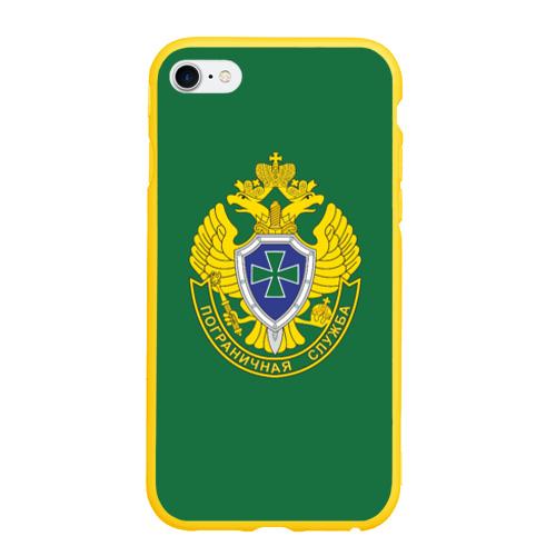 Чехол для iPhone 6/6S матовый Пограничная служба зеленый Фото 01