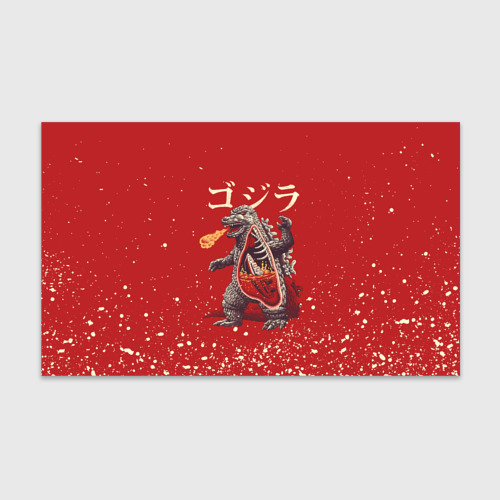 Бумага для упаковки 3D GODZILLA | ГОДЗИЛЛА (Z) Фото 01