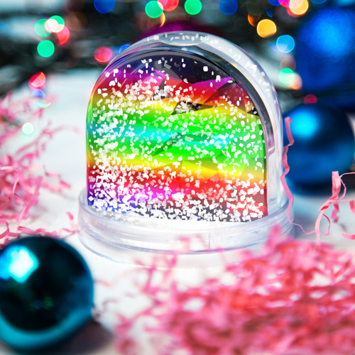 Снежный шар GEOMETRY NEON Фото 01
