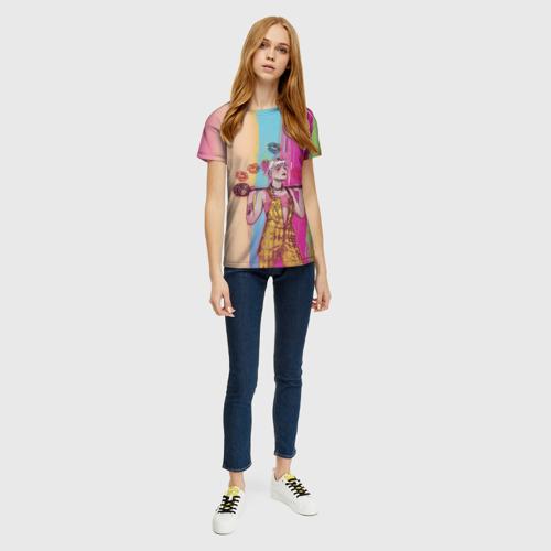 Женская футболка 3D Харли Квин Фото 01