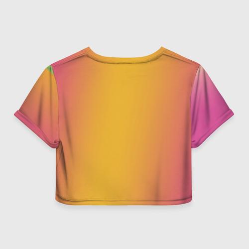 Женская футболка Crop-top 3D Харли Квин Фото 01