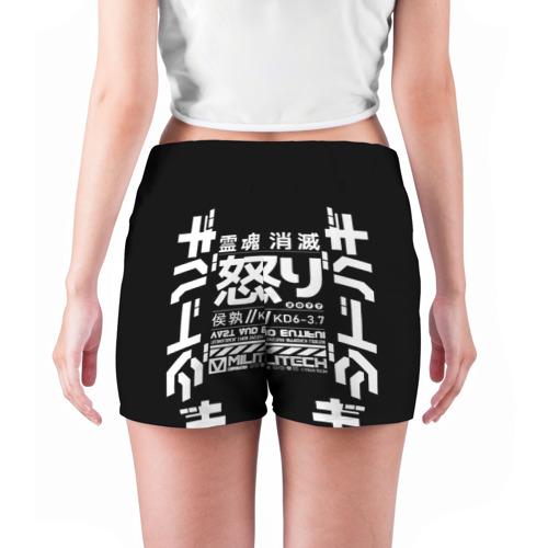 Женские шорты 3D Cyperpunk 2077 Japan tech Фото 01