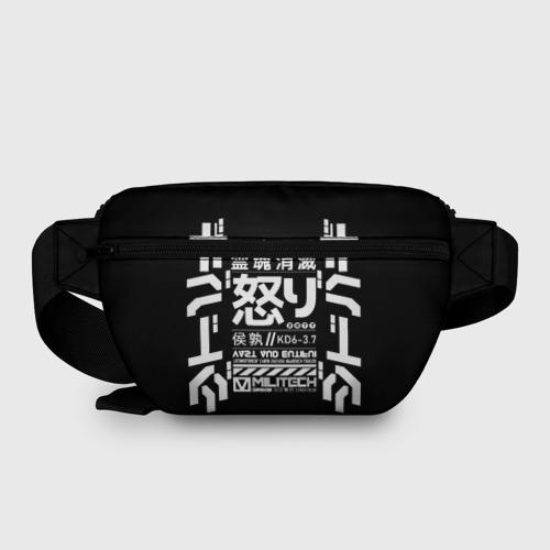 Поясная сумка 3D Cyperpunk 2077 Japan tech Фото 01