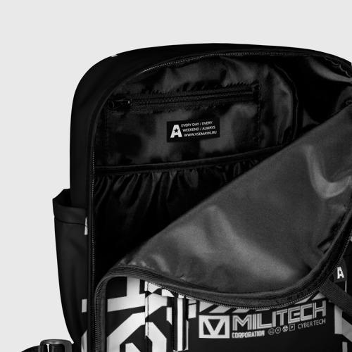 Женский рюкзак 3D Cyperpunk 2077 Japan tech Фото 01