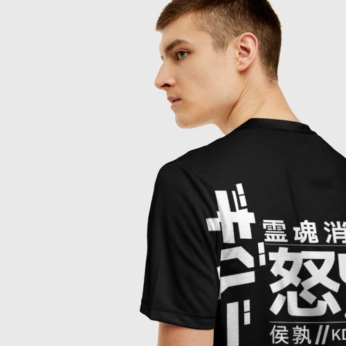 Мужская футболка 3D Cyperpunk 2077 Japan tech Фото 01