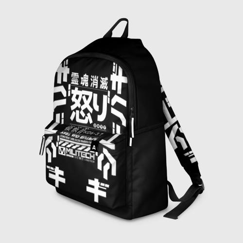 Рюкзак 3D Cyperpunk 2077 Japan tech Фото 01
