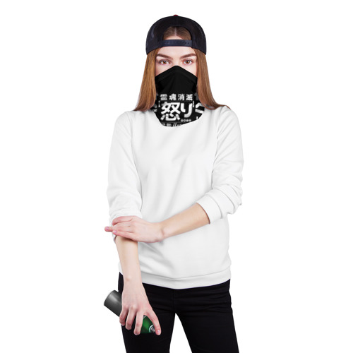 Бандана-труба 3D Cyperpunk 2077 Japan tech Фото 01