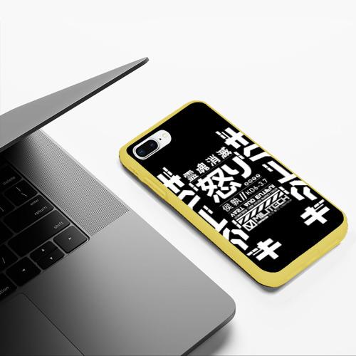 Чехол для iPhone 7Plus/8 Plus матовый Cyperpunk 2077 Japan tech Фото 01