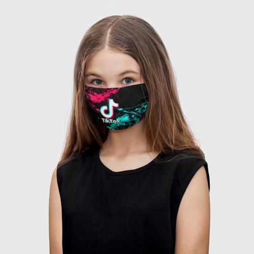 Детская маска (+5 фильтров) TIK TOK Фото 01