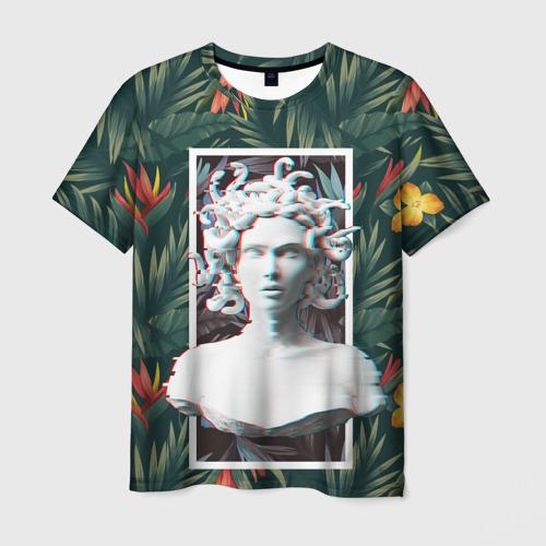 Мужская футболка 3D Медуза Горгона Фото 01