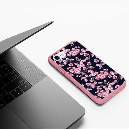 Чехол для iPhone 7/8 матовый Сакура Фото 01
