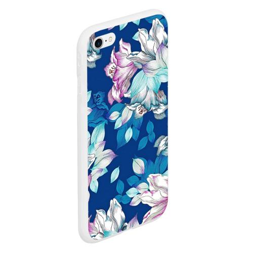 Чехол для iPhone 6/6S матовый Нежные цветы Фото 01