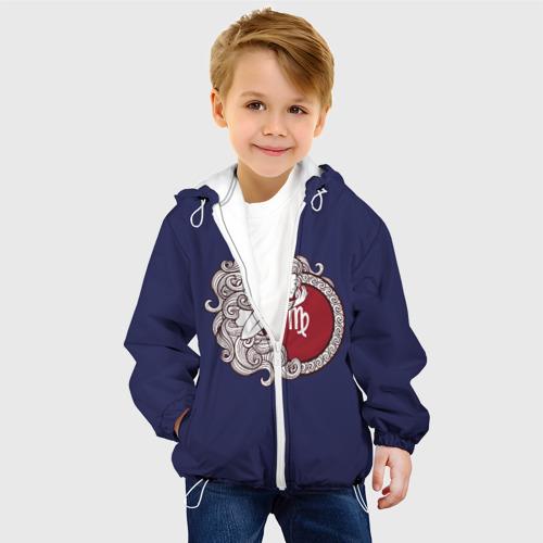 Детская куртка 3D Дева Знак Зодиака Фото 01