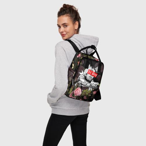 Женский рюкзак 3D LIL PEEP Фото 01