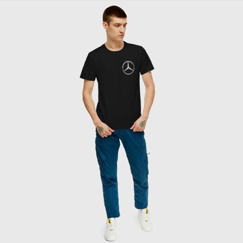 Мужская футболка хлопок MERCEDES | МЕРСЕДЕС (Z) Фото 01