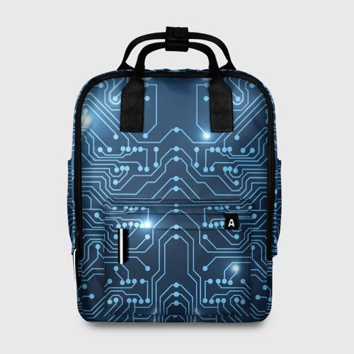 Женский рюкзак 3D Системная плата Фото 01