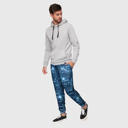 Мужские брюки 3D Системная плата Фото 01