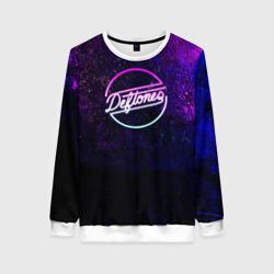 Deftones. Neon logo