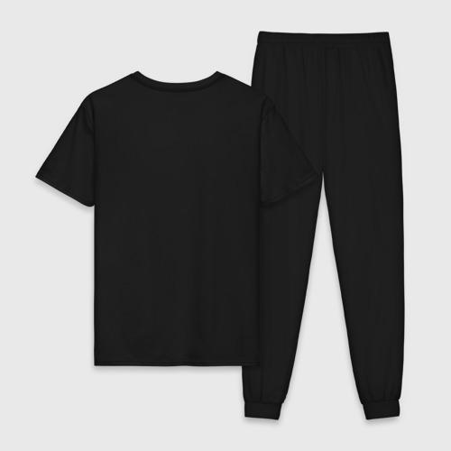 Мужская пижама хлопок Man in Black Фото 01