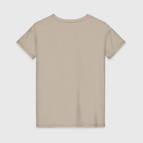 Женская футболка хлопок Man in Black Фото 01