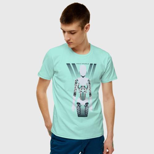 Мужская футболка хлопок Westworld Host  Фото 01