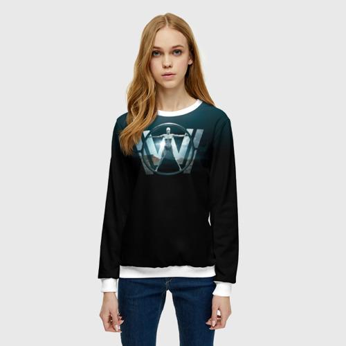 Женский свитшот 3D Westworld Logo Фото 01