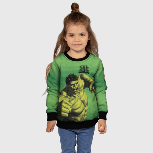 Детский свитшот 3D Hulk Фото 01