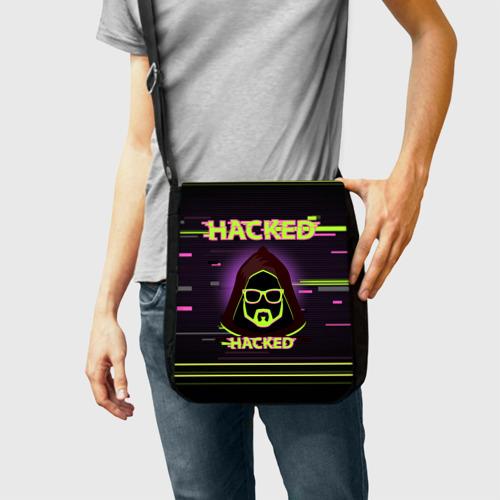 Сумка через плечо Hacked Фото 01