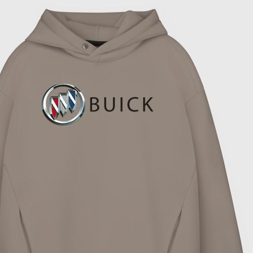 Мужское худи Oversize хлопок Buick | Бьюик Фото 01