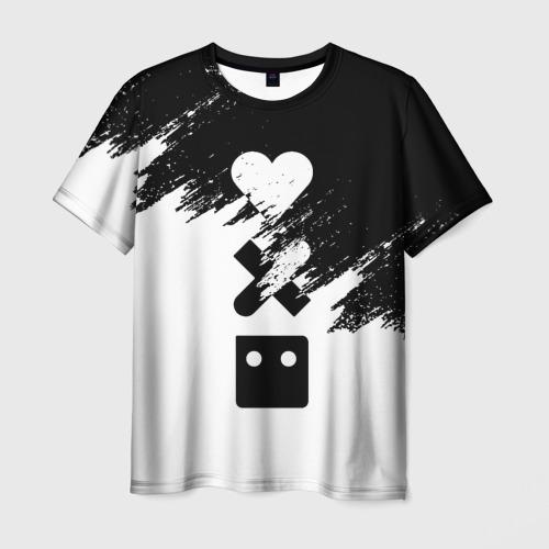 Мужская футболка 3D LOVE DEATH ROBOTS | LDR (Z) Фото 01